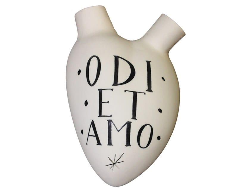 Porcelain wall decor item ODI ET AMO by Fos Ceramiche
