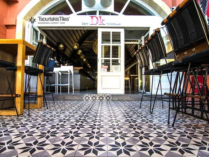 Handmade cement tiles ODYSSEAS 218 by TsourlakisTiles
