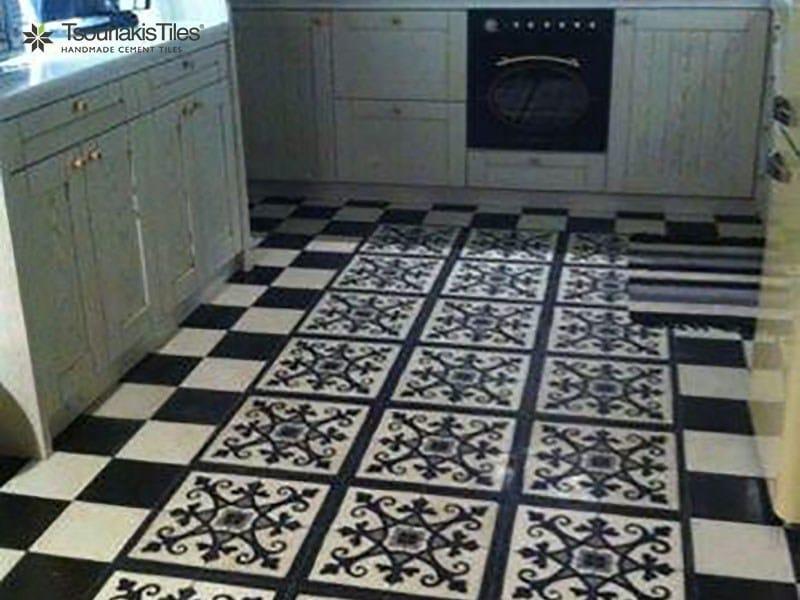 Handmade cement tiles ODYSSEAS 267 by TsourlakisTiles