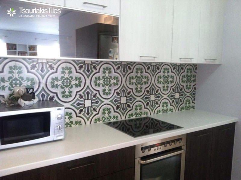 Handmade cement tiles ODYSSEAS 298 by TsourlakisTiles