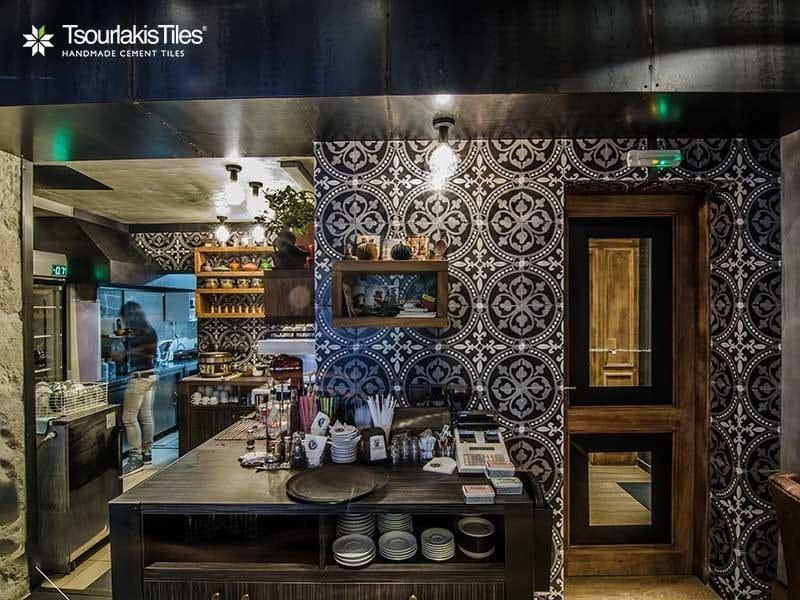 Indoor/outdoor cement wall/floor tiles ODYSSEAS 357 by TsourlakisTiles