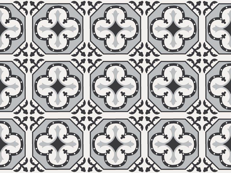 Indoor/outdoor cement wall/floor tiles ODYSSEAS 399 by TsourlakisTiles