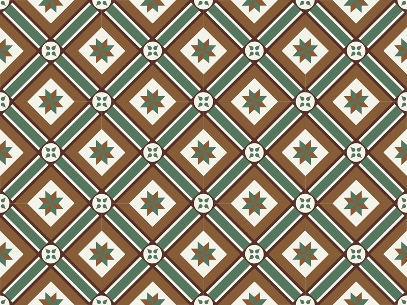 Indoor/outdoor cement wall/floor tiles ODYSSEAS 412 by TsourlakisTiles