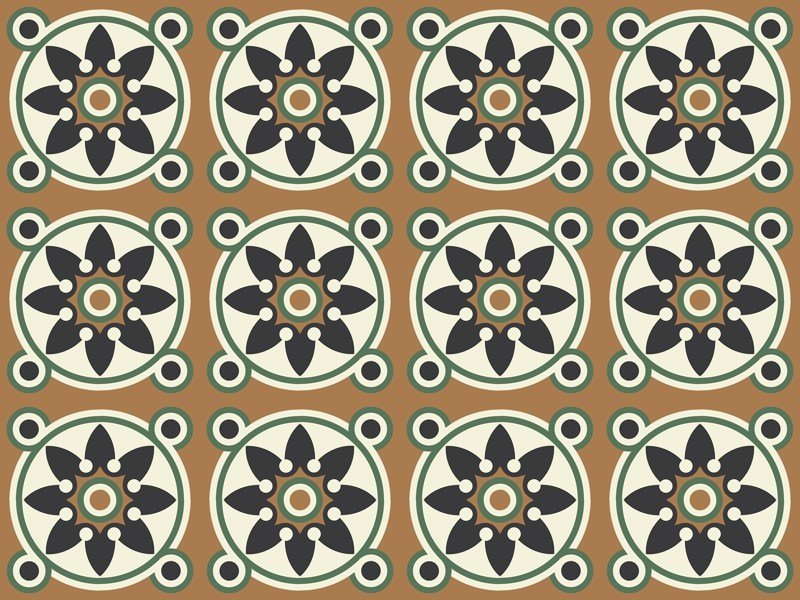 Indoor/outdoor cement wall/floor tiles ODYSSEAS 418 by TsourlakisTiles