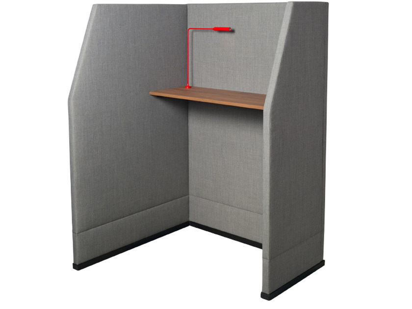 Office booth BRICKS WALL CUBICLE HIGH by Palau