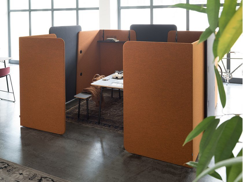 Acoustic meeting pod M.ZONE | Meeting pod by Wiesner-Hager