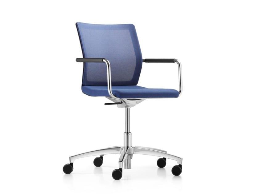 Stilo Office Chair With 5 Spoke Base Stilo Collection By Dauphin Design Jessica Engelhardt