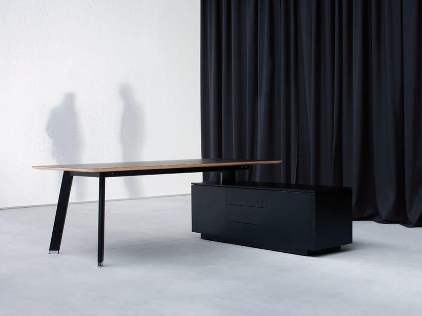 Rectangular workstation desk SIMPLIC | Office desk by BALMA