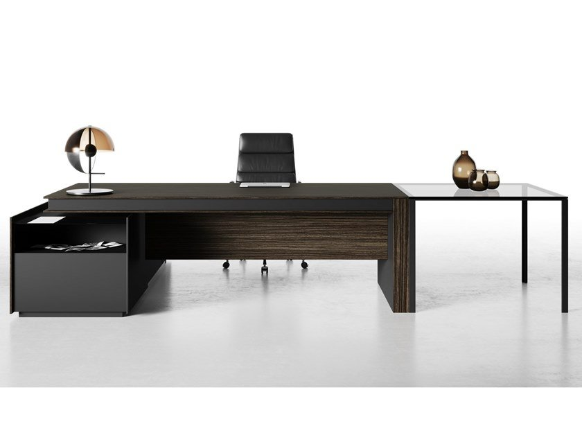 Laminate executive desk VITTORIA | Office desk by CUF Milano