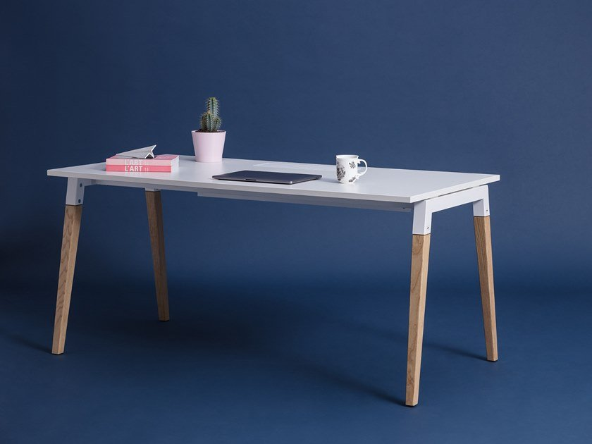 Rectangular office desk GOOD WOOD | Office desk by La Manufacture du Design