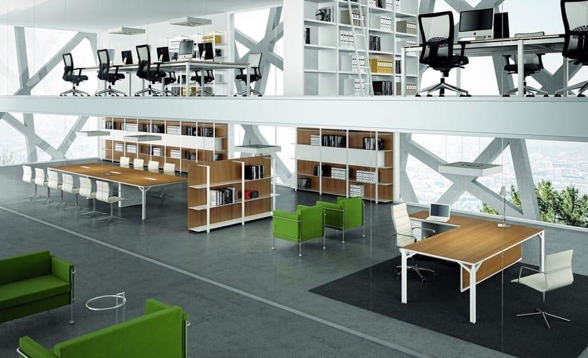 Mobili Per Ufficio Quadrifoglio : X8 scrivania collezione x8 by quadrifoglio