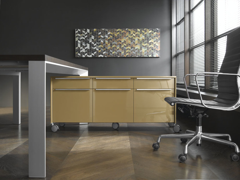 Modular office drawer unit with casters IN | Office drawer unit by BALMA