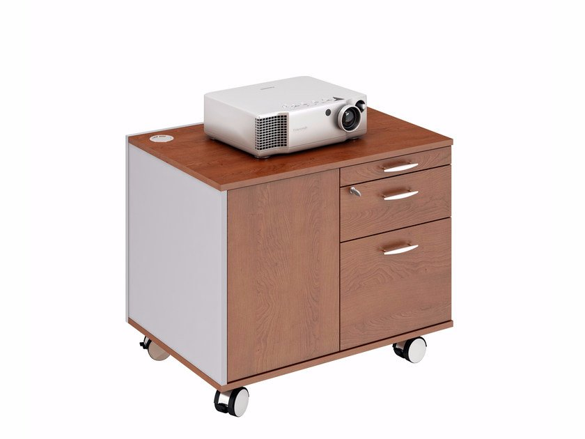 Office drawer unit with casters Office drawer unit by Quadrifoglio