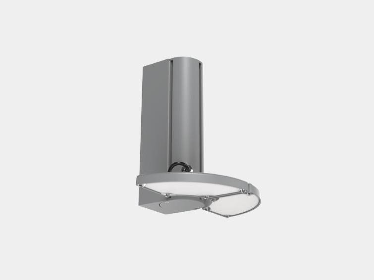 LED die cast aluminium wall light OFFICE FLOWER MINI by ES-SYSTEM