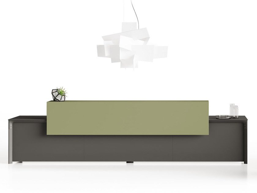 Office reception desk SEVENTY SEVEN | Office reception desk by CUF Milano