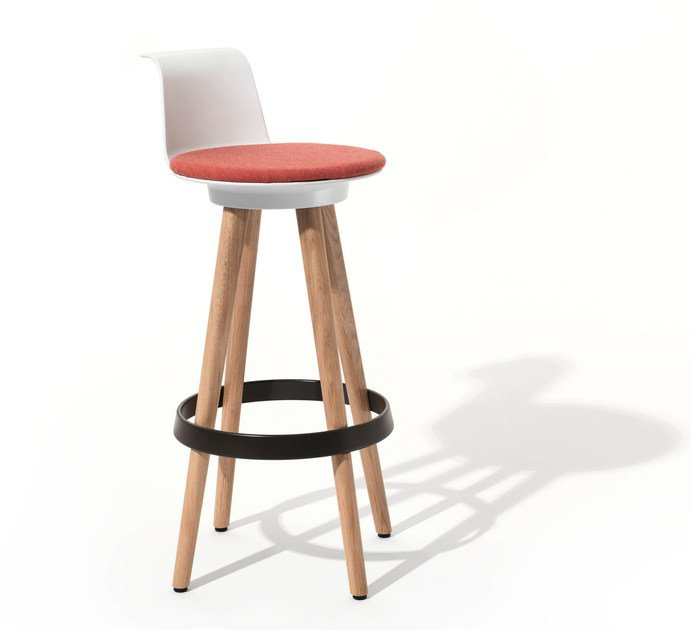 Office stool TIMBA STOOL HIGH by BENE