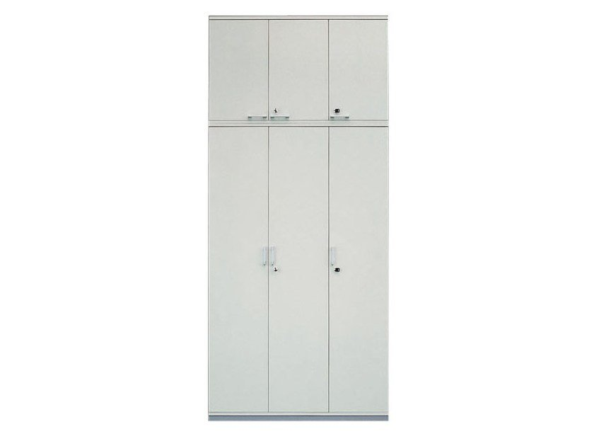 Office storage unit with hinged doors with lock SPACE | Office storage unit with hinged doors by Archiutti