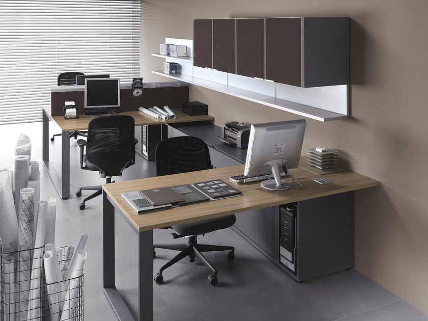 Multiple office workstation MIXT | Office workstation by BALMA