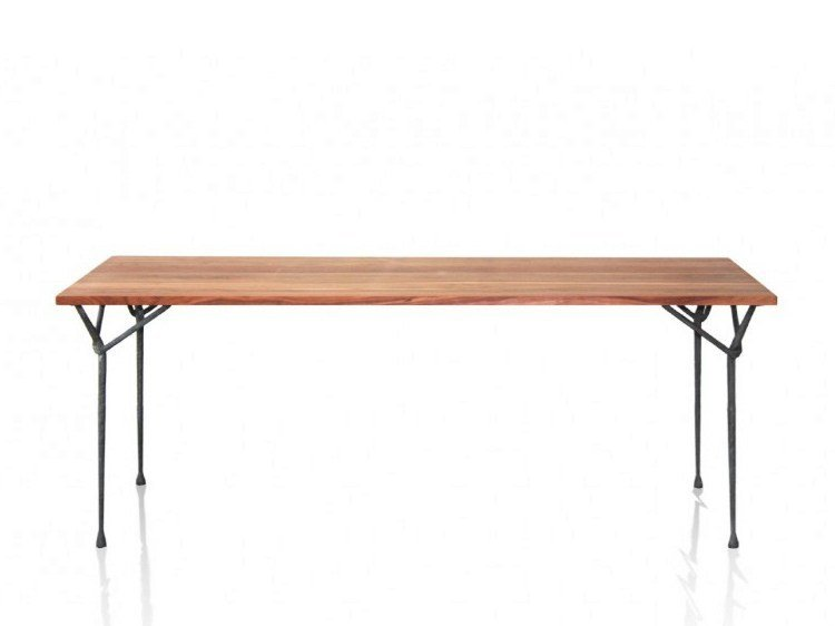 Rectangular ash table OFFICINA | Ash table by Magis