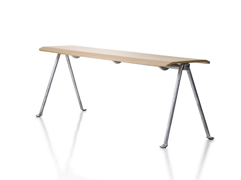 Multi-layer wood bench OFFICINA | Bench by Magis