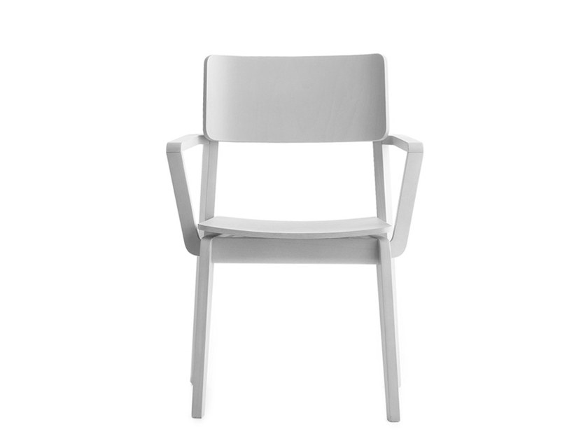 Chair with armrests OFFSET 02821 by Montbel