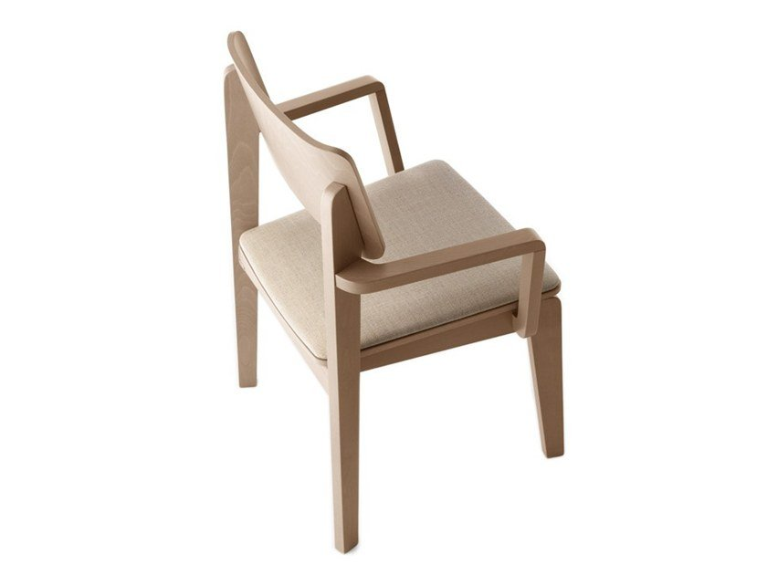 Chair with armrests OFFSET 02822 by Montbel