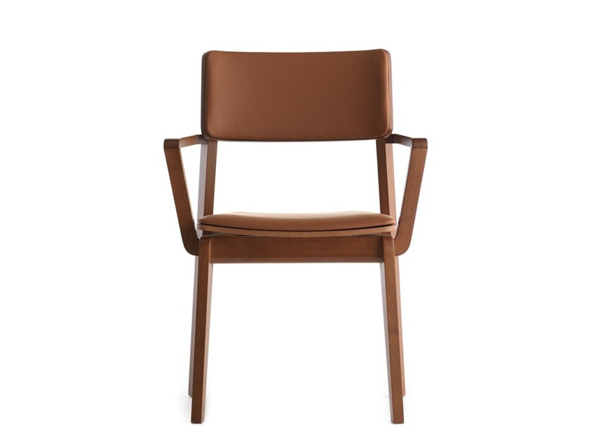 Chair with armrests OFFSET 02823 by Montbel