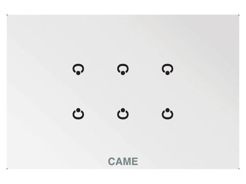 Modulo a 6 comandi su placca di vetro OH/6ITC by CAME