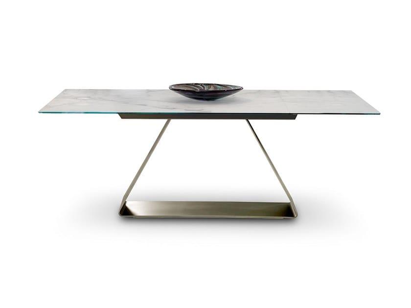 Tavoli In Cristallo Allungabili Reflex.Oh Tavolo Allungabile Collezione Oh By Reflex