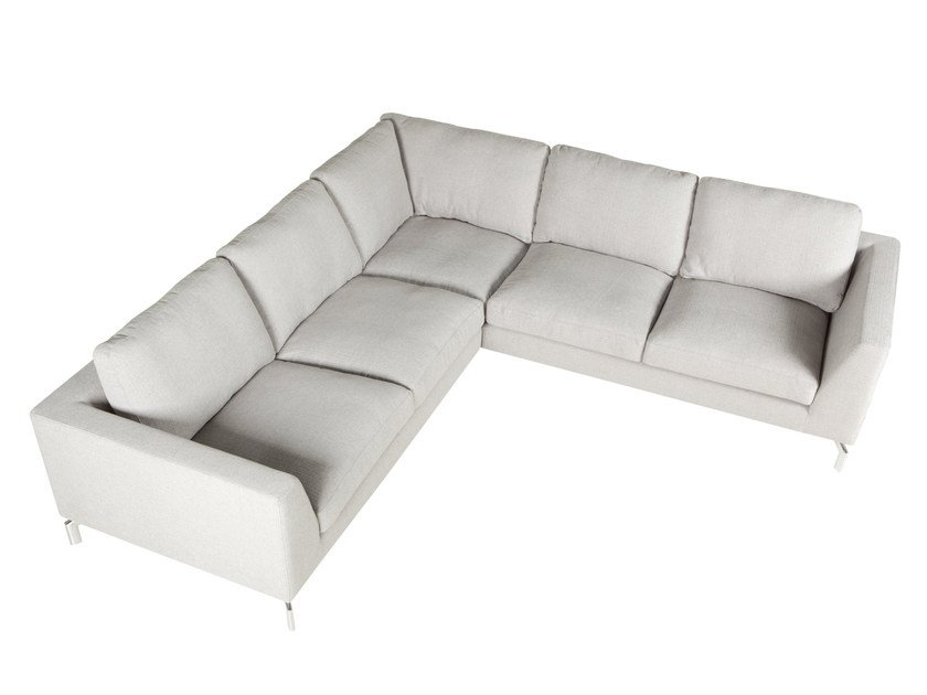 Corner Sectional 4 Seater Fabric Sofa Ohio By Sits