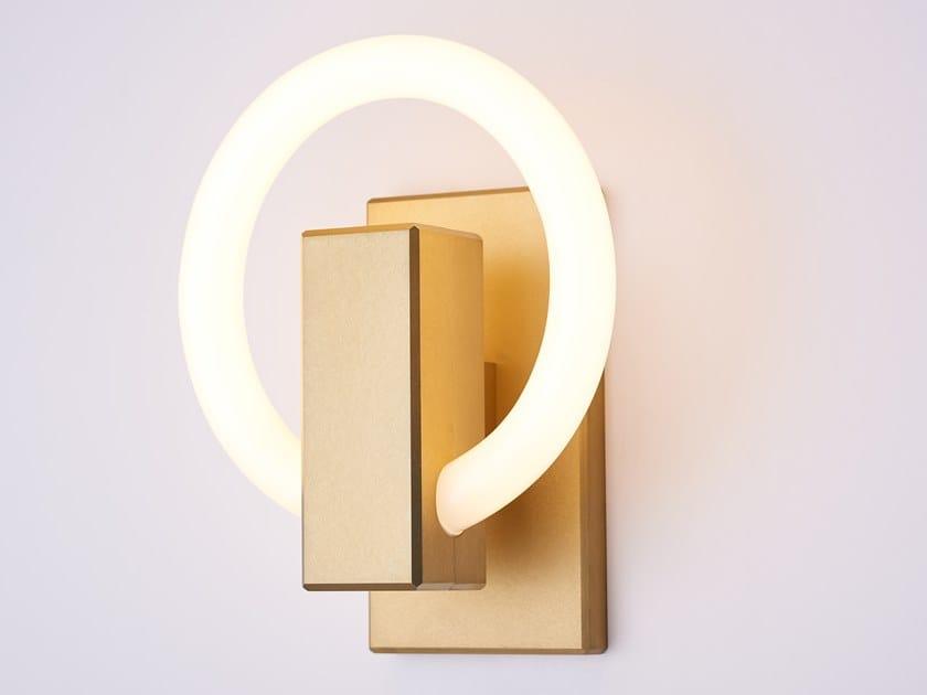 LED aluminium wall light OLAH by Karice