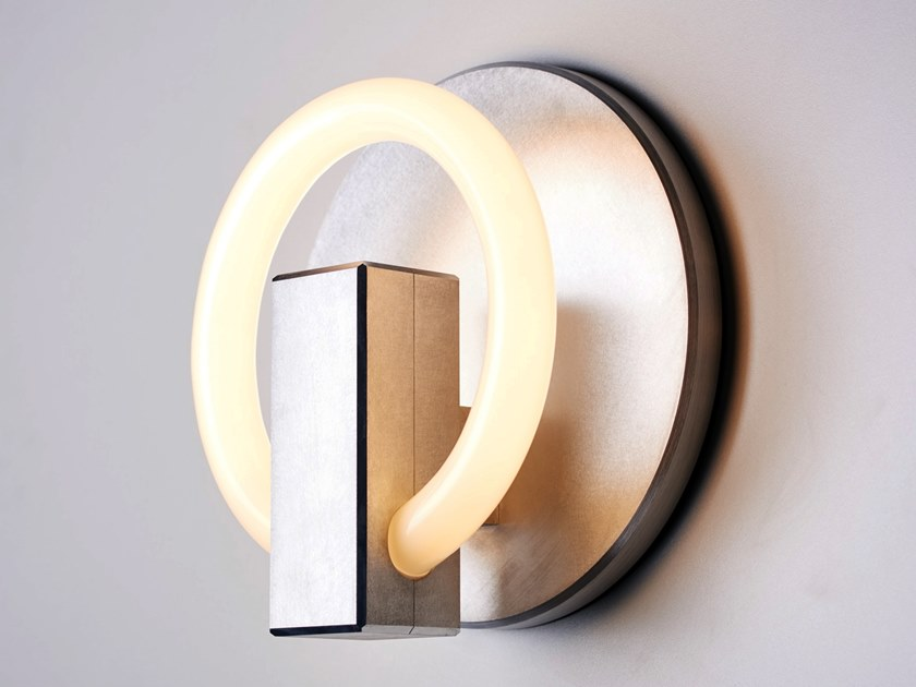 Applique a LED in alluminio OLAH RD by Karice
