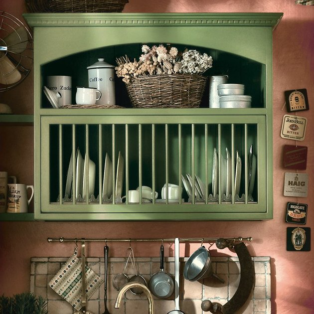 Cuisine en Bois Modulable OLD ENGLAND - COMPOSITION 03 Collection ...