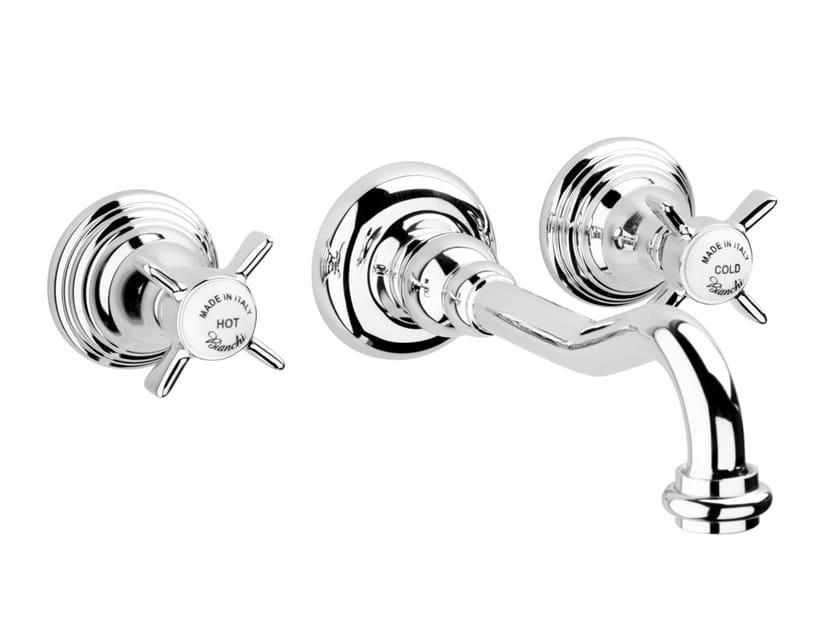 3 hole wall-mounted washbasin tap OLD ENGLAND   Wall-mounted washbasin tap by BIANCHI RUBINETTERIE