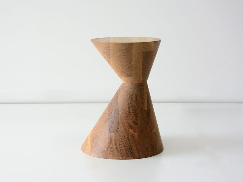 Solid wood stool / coffee table OLDTOWN by hollis+morris