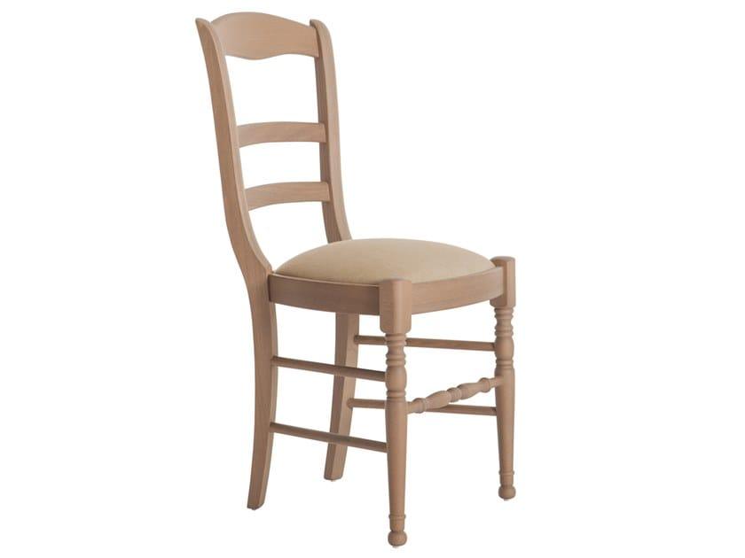 Beech chair OLIMPIA 43Q.i1 by Palma