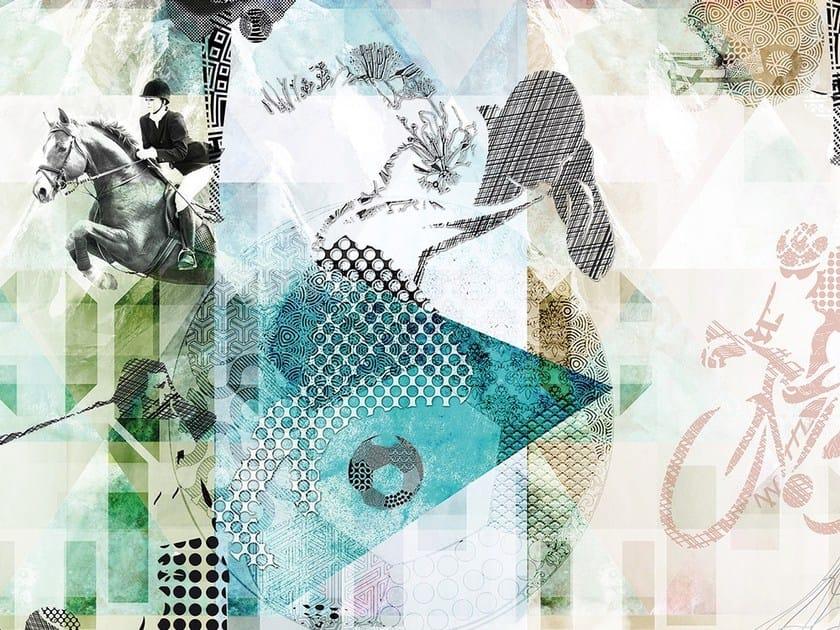 Wallpaper OLIMPIA by Adriani e Rossi edizioni
