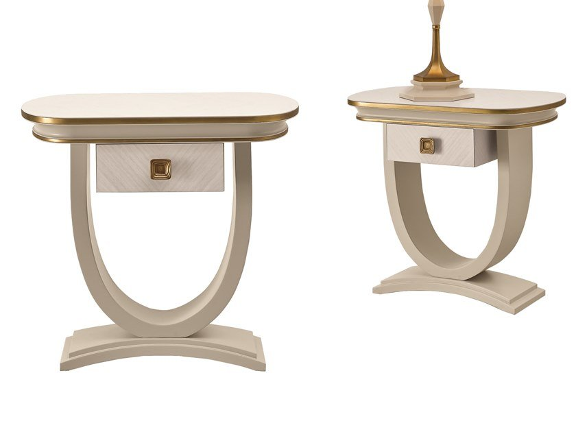 Bedside table with drawers OLIVER | Bedside table by A.R. Arredamenti