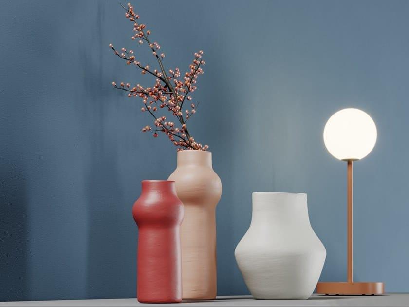 Terracotta vase OLIVIA by PROF