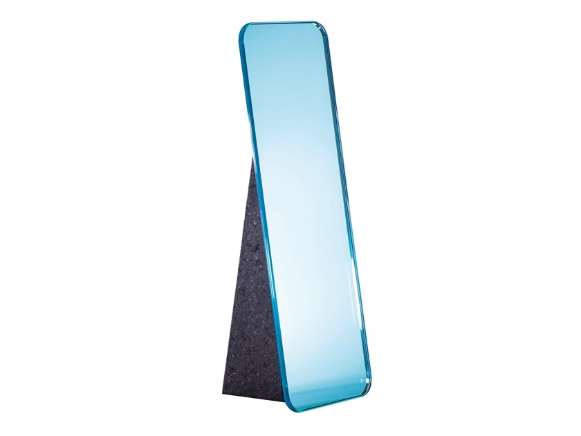 Countertop rectangular stained glass mirror OLIVIA by pulpo