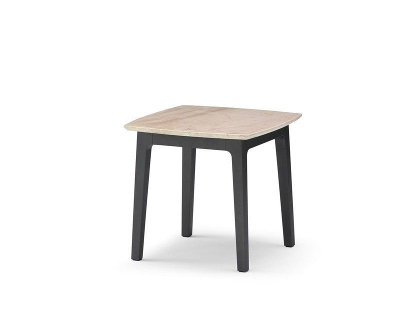 Square side table OLIVIER | Side table by Flou