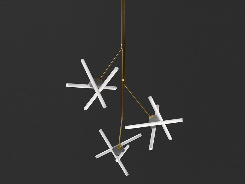 Direct light pendant lamp OLVIDADA TRIPLE by BD Barcelona Design