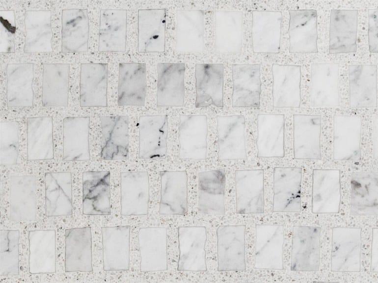 Graniglia Di Marmo Nero.Pavimento In Graniglia E Marmo Di Carrara Omaggio A Scarpa