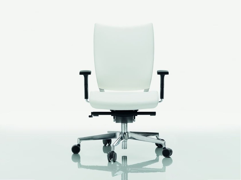 Task chair with 5-Spoke base OMBRA | Task chair by Quadrifoglio