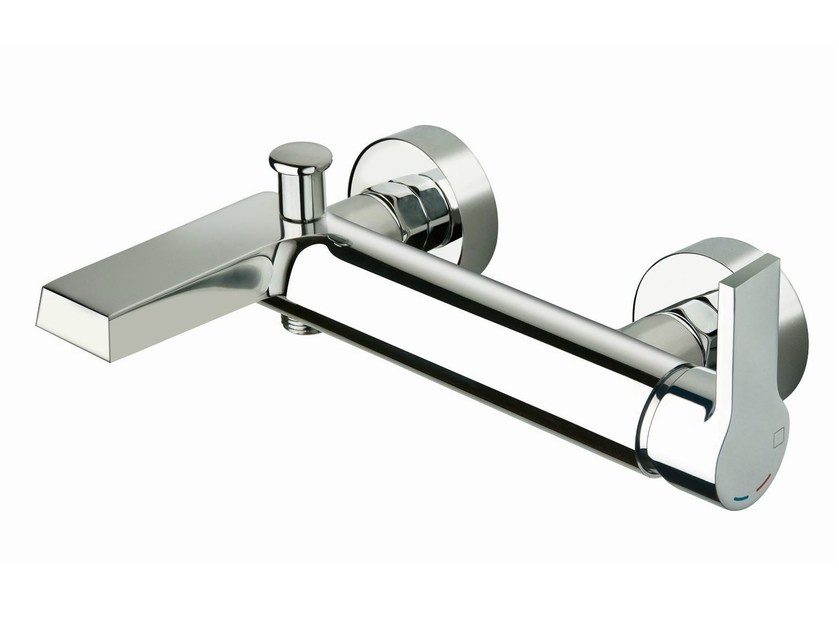 Wall-mounted bathtub mixer OMEGA | Bathtub mixer by CRISTINA