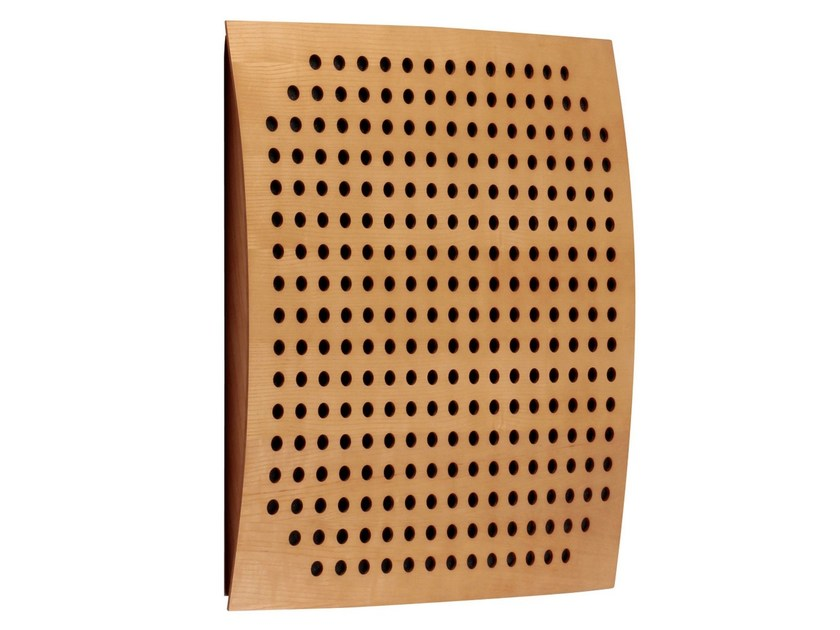 MDF Decorative acoustic panel OMEGA WOOD by Vicoustic by Exhibo