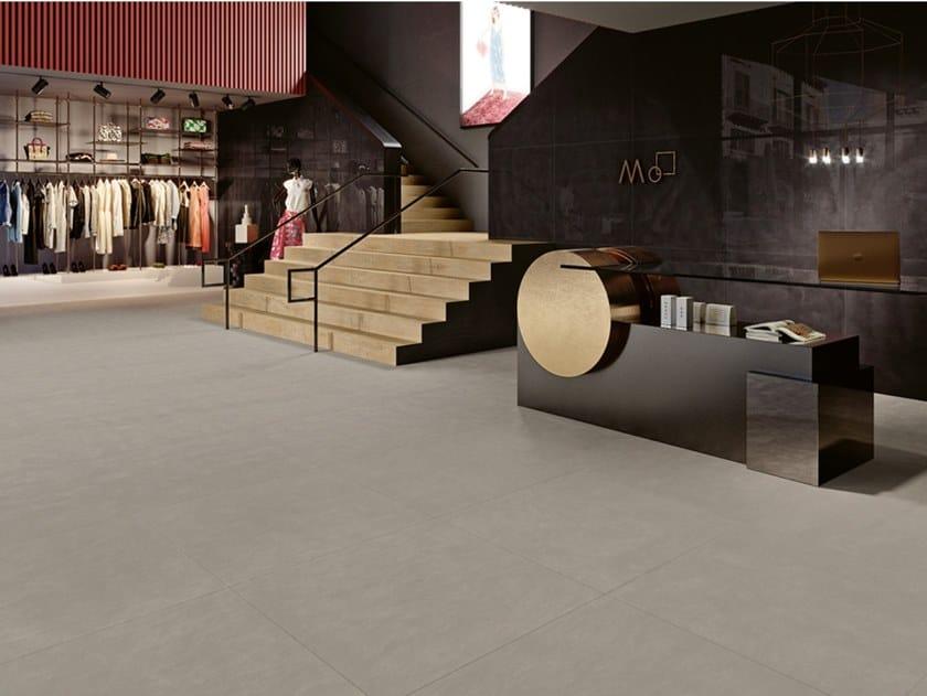 Outdoor indoor full-body porcelain stoneware wall/floor tiles OMNI by Revigrés