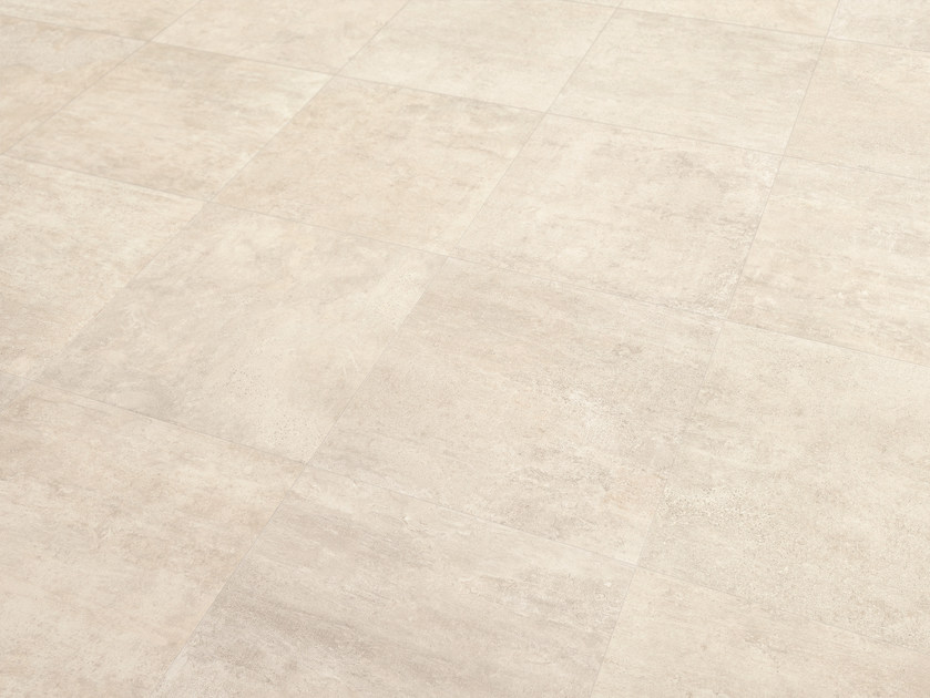 Porcelain stoneware wall/floor tiles with concrete effect ON SQUARE AVORIO by EmilCeramica by Emilgroup