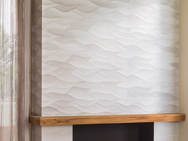 3D Wall Cladding with stone effect ONA NATURAL by Venis