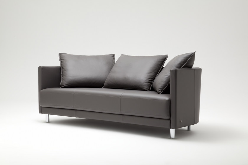 onda sofa aus leder kollektion onda by rolf benz design christian werner. Black Bedroom Furniture Sets. Home Design Ideas